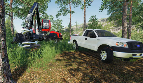 Blog: Farming Simulator 19 mods showcase - 2005 Ford F-150