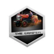 Logo The Camper, Logo Youtuber The Camper